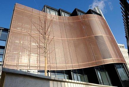 fachada lamina perforada
