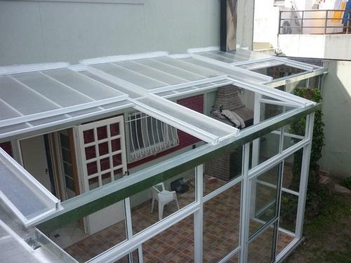 Techos corredizos deslizantes para terrazas arquigrafico for Techos de tejas para patios exteriores