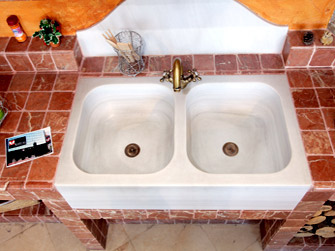 Pila fregadero para exterior beautiful modelo de lavadero for Pica lavadero roca