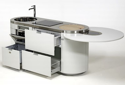 Cocinas modernas compactas una opci n de lujo y for Cocinas modernas apartamentos pequenos