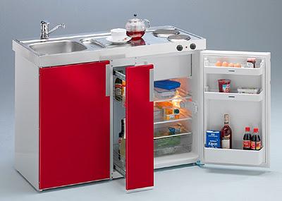 Cocinas modernas compactas una opci n de lujo y - Mini cocinas compactas ...