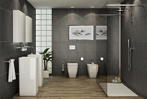 Materiales baños modernos