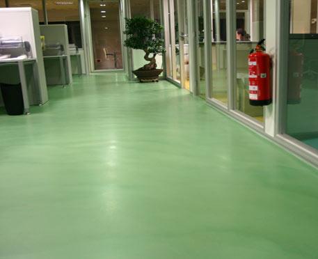 piso microcemento alisado