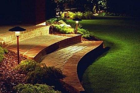 Iluminación de Jardínes