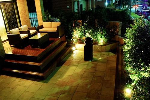 jardin iluminar