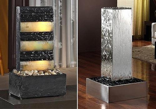 Cascadas y fuentes de agua decorativas para interior - Fuentes de cascada ...