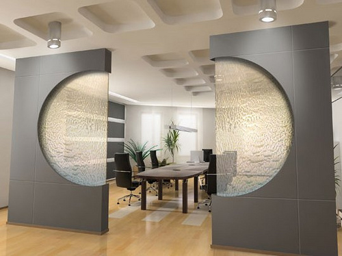 Cascadas y fuentes de agua decorativas para interior - Placas decorativas para pared interior ...