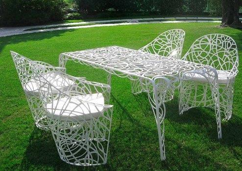 fotos de muebles de jardines