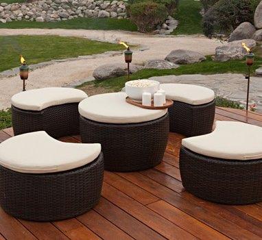 mobiliario para jardin