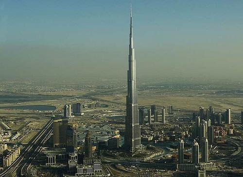 Burj Dubai ahora es Burj Khalifa, el edificio mas alto del mundo