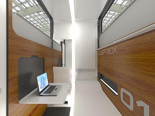 sleepbox aereopuerto