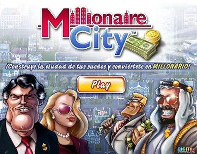 Millionaire City, juego sobre Bienes Raices en Facebook