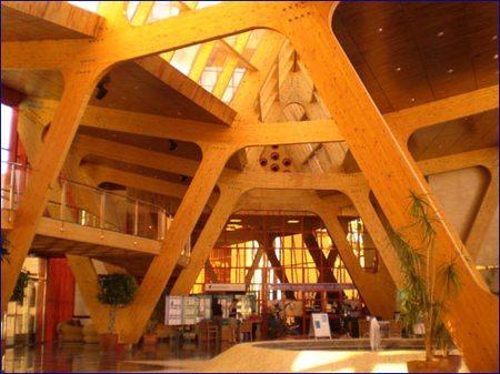 Vigas de madera laminada estructural - Casas de madera laminada ...