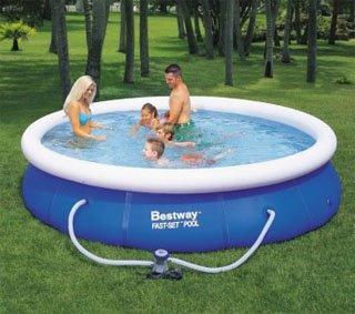 Bestway pool round