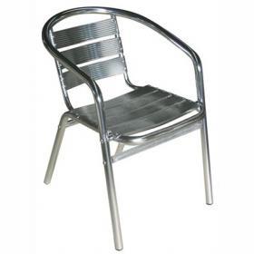 silla aluminio