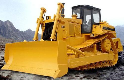 Bulldozer maquinaria