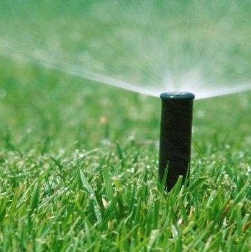 Sistemas de riego para el jard n o c sped arquigrafico for Aspersores de agua para jardin