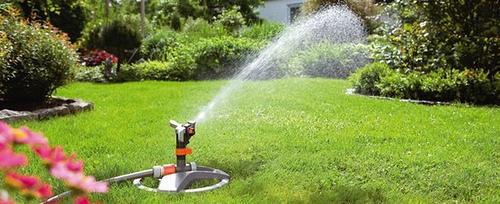 Sistemas de riego para el jardín o césped