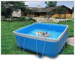 Above ground pool -
