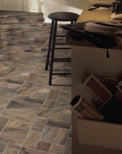 piso laminado cocina