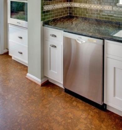 piso corcho cocina