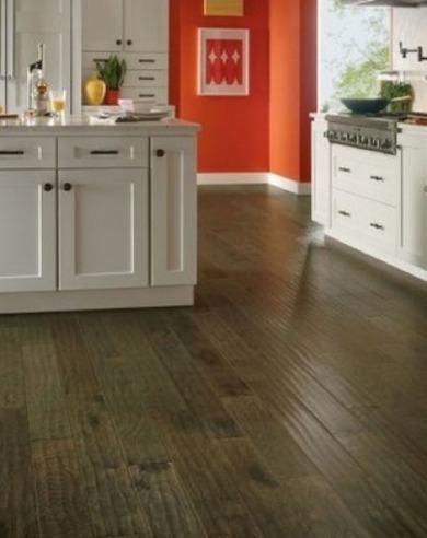 piso madera cocina