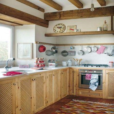 Fotos de diseno de cocinas rusticas - Cocinas de material rusticas ...