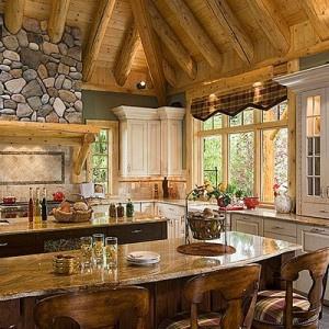 Fotos de diseno de cocinas rusticas Disenos de cocinas rusticas