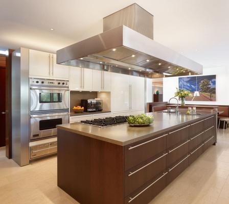 10 Impresionantes Ideas de Diseño de Isla Central de Cocina ...