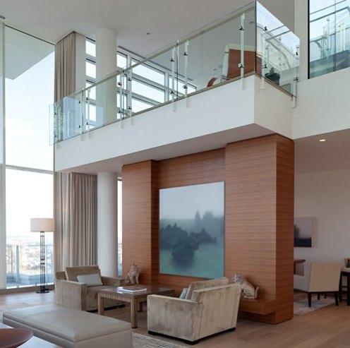 Barandas de cristal alternativa modernas para tus for Balcones minimalistas fotos