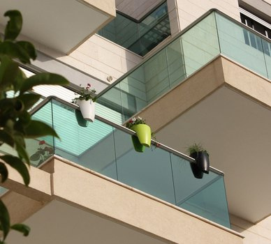 barandas de cristal modernas