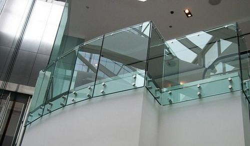 Laminated Steel Pipe ~ Barandas de cristal alternativa modernas para tus