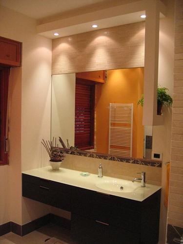 baos espejos de bao con marco de madera espejos de bao modernos