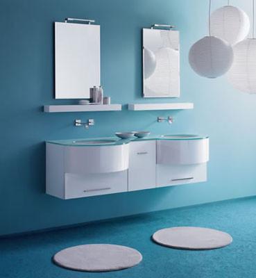 Espejos Cuarto De Bao Modernos. Bao Moderno Con Espejo Muy Grande ...