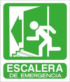 escaleras de emergencia
