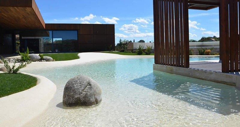 Construye una playa en tu casa con las piscinas de arena - Piscina arena ...