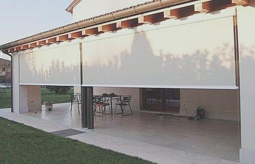 Tipos de toldos para terrazas y balcones arquigrafico for Cortinas para terrazas exteriores