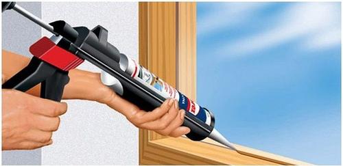 Adhesivos y Selladores para obras de Construccion